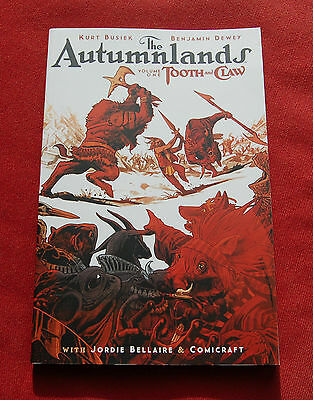 The Autumnlands - Volume 1: Tooth and Claw - Kurt Busiek - IMAGE Graphic Novel