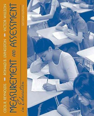 Measurement and Assessment in Education by Cecil R. Reynolds (English) Paperback