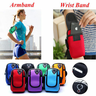 Running Sports Cycling Jogging Gym Armband Arm Band Holder Bag For Mobile Phones