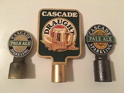 Metal Cascade Beer Tap Tops (3)