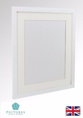 "White Photo Picture Poster Panoramic Frame MOUNT 3x3""-11x34"" A6-A3 10x10-30x85cm"