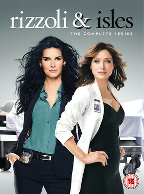 Rizzoli & Isles: The Complete Series DVD (2017) Angie Harmon ***NEW***