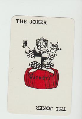 JOKER  WATNEYS  BREWERY     PLAYING CARDS  single card