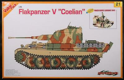 Flakpanzer V Coelian, 1/35, Cyber Hobby 9121, super value pack