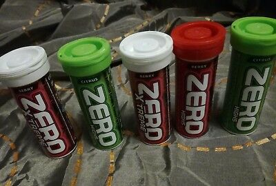 High5 Zero Electrolyte Hydration Tabs x5 Tubes, Berry, Citrus, High 5, Xtreme