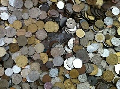 1 KG  Mixed World Coins Job Lot - Multiple Countries