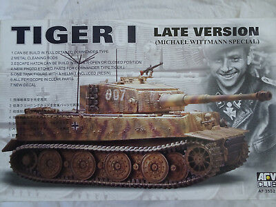 Tiger I, späte Version, Michael Wittmann Special, 1/35, Afv-Club 35S27