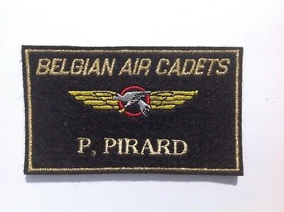 Force Aérienne Belge - Air Cadets - Name tag