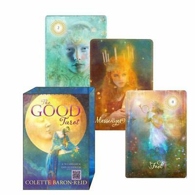 The Good Tarot 78 Card Deck Vintage Set Waite Rider Oracle Divination Sealed New