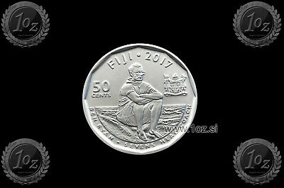 FIJI 50 CENTS 2017 ( RUGBY 7's) Commemorative Coin * UNCIRCULATED * NEW