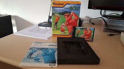 MSX Konami GOLF Cartucho / Cartridge