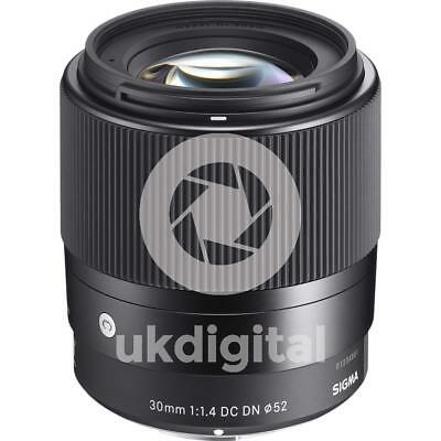 SIGMA 30mm F1.4 DC DN Contemporary lens - SONY E