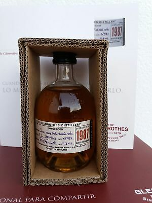 Whisky Glenrothes 1987 Miniature 10cl 43% Box