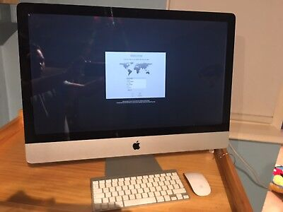 "Apple iMac 27"" Core 2 Duo 3.06GHz, 4Gb, 1Tb, OS 10.12 Sierra"