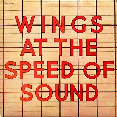 WINGS WINGS AT THE SPEED OF SOUND NEW VINYL LP REISSUE OUT 17th NOVEMBER