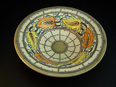CHARLOTTE RHEAD CROWN DUCAL TUBE LINED BOWL PATTERN 5627/5623 - 10 inch - c1936