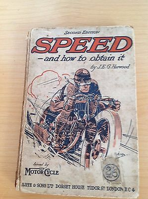 Speed & How to Obtain it – The Motor Cycle – Norton, Triumph, BSA