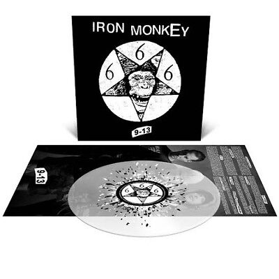 IRON MONKEY 9-13 PRESALE NEW ALBUM LTD SPLATTER VINYL LP OUT 27th OCTOBER