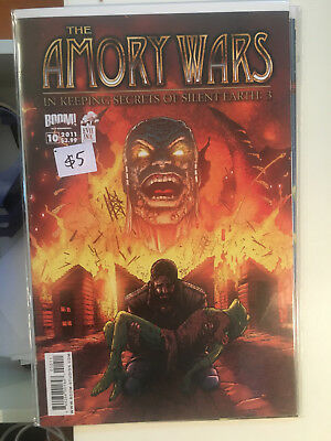 AMORY WARS 10 In Keeping Secrets of Silent Earth 3 BOOM Coheed and Cambria Comic