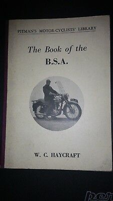 The book of the bsa  w.c. haycraft.