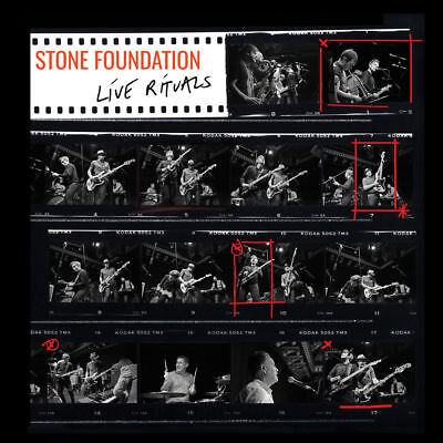 Stone Foundation Live Rituals Hand Signed Autographed Cd Dvd Album 2017 !