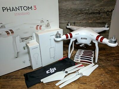 DJI Phantom 3 Standard QUADCOPTER ONLY with Accessories - Awesome Drone!