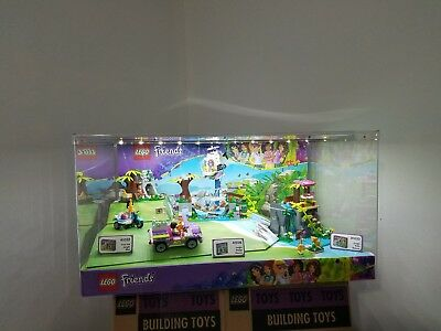 Lego Friends Jungle 41032 41033 41036 Lighted Store Display - Very Rare!