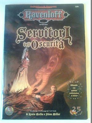 Dungeons & Dragons Avventura - Ravenloft - Servitori dell'oscurita'