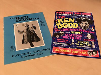1980s Scraborough Futurist Theatre Programme & Flyer - Ken Dodd