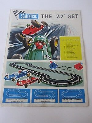 SCALEXTRIC CATALOGUE (1960's)