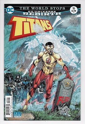 Titans #16 - Rebirth Main Cover (DC, 2017) - New/Unread (NM)