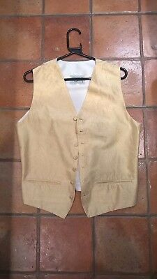 Anthony wedding waistcoat,  rich cream colour, 38 chest, excellent condition.