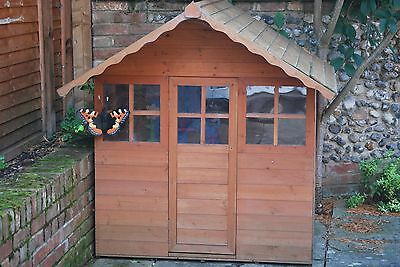 childs wooden playhouse outdoor wendy house