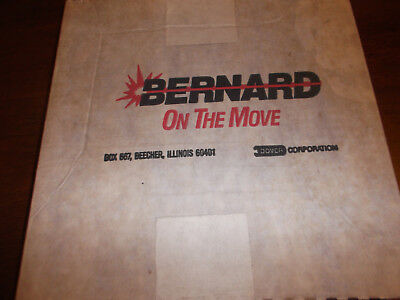 Bernard Welding Liner Assembly 86110
