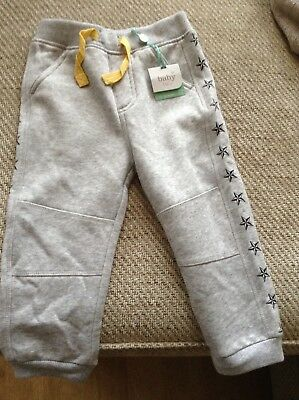 boys grey jogging bottoms 12- 18 months new