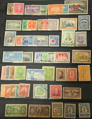 Honduras collection of 50 mint/used all different