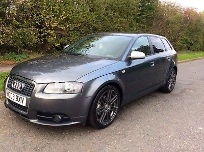 2008 Audi A3 2.0 TDI S Line Quattro - Full Exclusive Leather & Bose sound system