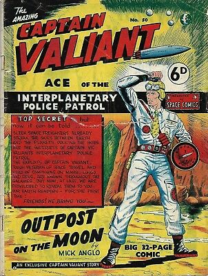 Captain Valiant No.50 (Mick Anglo)