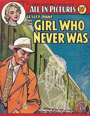 Super Detective Library 86 Lesley Shane