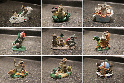 Charming Tails Mixed Lot - Limited Editions & SIGNED - 9 Pieces Total