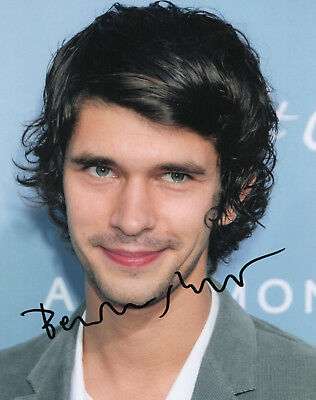 "Ben Whishaw Hand Signed 10"" x 8"" Photo. James Bond Actor. Skyfall etc."