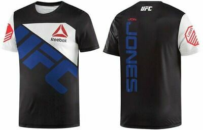 New Men's REEBOK UFC Official Fighter Jersey Shirt - JON JONES - AH7920