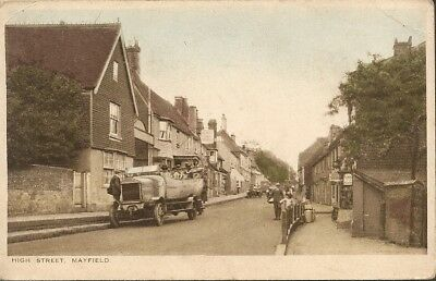 High Street, Mayfield, Sussex. 1925