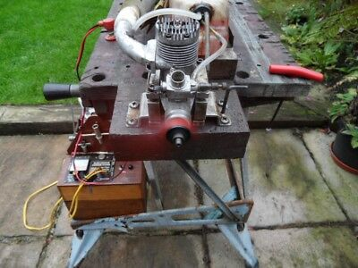 OS Max 50 rc model Aero  Engine  with manifold