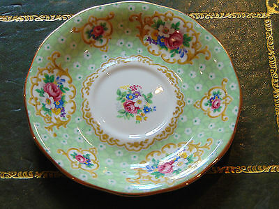 Queen Anne China Replacement Tea Saucer. Gainsborough