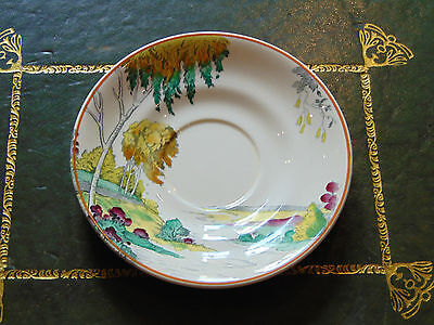 Replacement Tea Saucer copeland spode silver birch