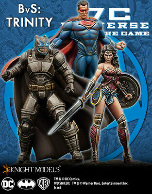 Knight Models DC Universe Game Batman Vs Superman Trinity