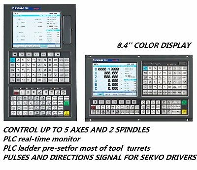 SERVO GSK CNC CONTROL for LATHE, C AXIS,TURNING CENTER, DUAL-SPINDLE ANALOG, MPG