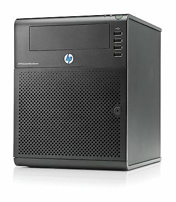 HP ProLiant N54L Microserver, 8GB, 250GB, Server 2016, Special BIOS