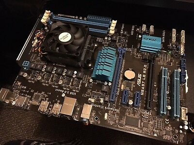 m5a97 le r2.0 ASUS Motherboard With AMD FX-6300 Six core CPU